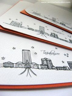 Tallahassee, Florida Notecards