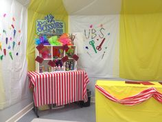 Colossal Coaster World, Scissors and Stuff Emporium Craft room