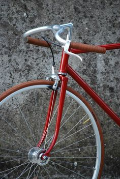 Hot red fixie