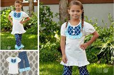 Seriously Ruffly - Girls 2 Piece Outfit pickyourplum.com
