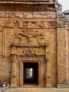 Jesuitic Ruins - Paraguay  (World Heritage  Site UNESCO 1993)