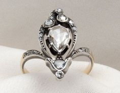 gorgeous diamond ring - #vintage