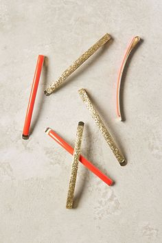 dressed-up bobby pins - anthropologie