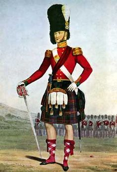 Officer of the 79th Cameron Highlanders, Crimea