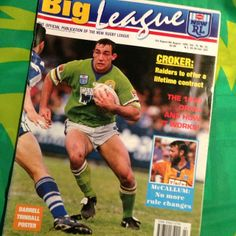 FLASHBACK: Canberra Raiders great Jason Croker, 1994.