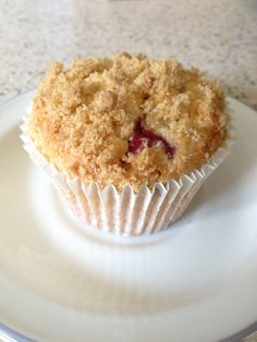 Blueberry crumble cupcakes (eggless)