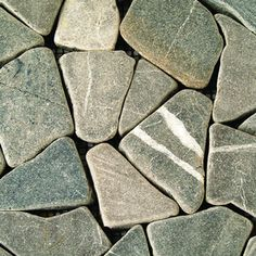 Solistone�10-Pack Solistone Indonesian Mosaic Decorative Pebbles Gray Natural Stone Mosaic Floor Tile (Common: 12-in x 12-in; Actual: 12-in x 12-in)