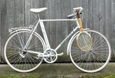 Peugeot Tennis by collectvelo | I guess Peugeot made this bike all white so they wouldn't be in violation of any clubhouse rules.
