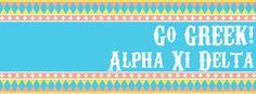 Go Greek! Alpha Xi Delta cover photo