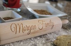 Personalized Rolling Pins- Sweet gift idea!