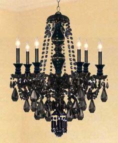 Black Chandeliers | Black Chandelier | Chandeliers | Home Bedroom ...