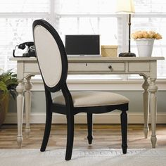 Universal Furniture Summer Hill Writing Desk in Dusk