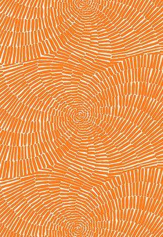 Sonriza Print Orange by Schumacher Fabric #orange #fabric