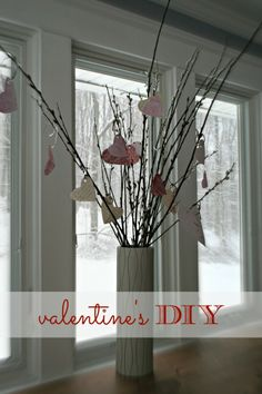 Bring the Outdoors in // Valentines Day {DIY} - The New Modern Momma