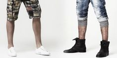 Guide To: Shorts & Footwear Combinations #FashionTip #Men