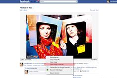 open image in new tab Pinterest tip on how to pin photos from Facebook