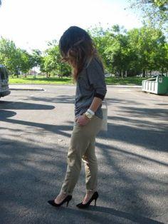 RomalosBlog Outfit  pumps Heels  Primavera 2012. Cómo vestirse y combinar según RomalosBlog el 11-6-2012