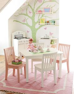 Little girls playroom