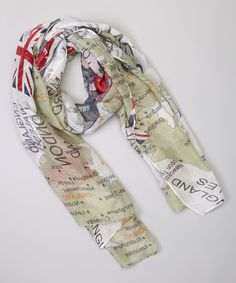 Union Jack ♔ London Scarf