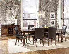 The Dump Furniture Outlet Iron Strap Dining Room Pinterest