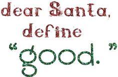 define good - Christmas printable
