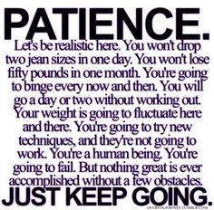 patience..keep chipping away.... ♥ Ready For A Summer Bikini Body You Love ♥? Beat The Fat Loss Factor That Prevents Weight Loss NO Matter What You Do!