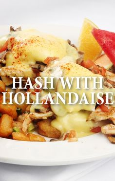 Mario Batali answered a Mystery Fridge Challenge with his Mystery Hash with Hollandaise and Fried Eggs recipe.  http://www.recapo.com/the-chew/the-chew-recipes/chew-mario-batalis-mystery-hash-fried-eggs-hollandaise/