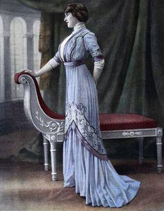 Edwardian Fashion - 1909.