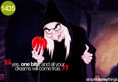poison apple.