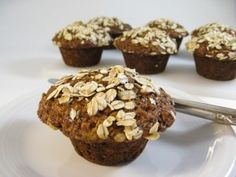 By now we all know that a bowl of oatmeal is a healthy way to start the day.  But let's face it…  It gets a little boring sometimes, right?  So, these delicious, skinny muffins are like a dream come true!  They're super simple to bake a