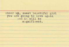 Find love again