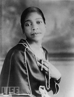 The Late Great Bessie Smith  ~ Blues Singer, extraordinaire