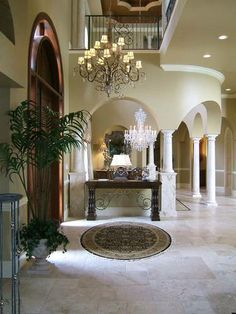 Vasari House Plan - Weber Design Group..... Stunning foyer