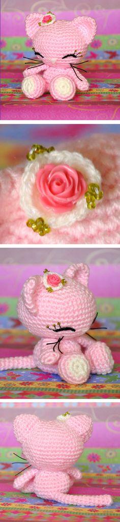 Sweet Kitty Amigurumi Free Pattern    #diy #crochet #amigurumi #kitty #pattern #craft