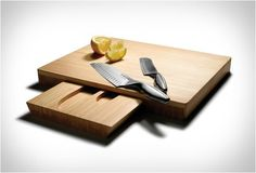 Knives and Cutting Board Set