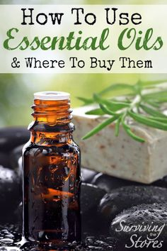 How to use essential oils and where to buy them!