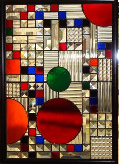 FLW,  Stained Glass Design