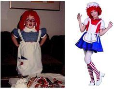 doll dresses, halloween costumes, red rag, dressup set, dress up, rag doll, rg costum, doll dressup, kid
