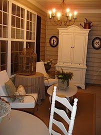 Gorgeous back porch.