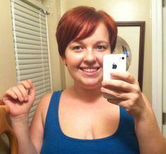 fat girls + short hair = YES!: Photo short hair, style, shorts, hair inspir, pixi, hair stuff