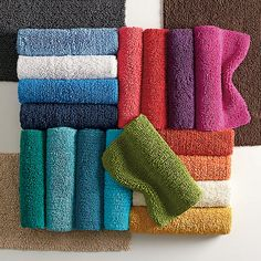 Dorm Decor; Company Cotton Chunky Bath Rug