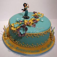 Princess Jasmine — Children's Birthday Cakes  La Forge à Gâteaux