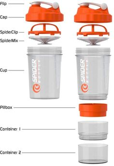 WODshop.com - SpiderBottle | 2GO Shaker Bottle, $12.99 (http://www.wodshop.com/spiderbottle-2go-shaker-bottle/)