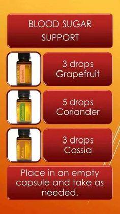 Blood Sugar Support Essential Oil Blend. http://www.mydoterra.com/lgarner/