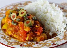 """Panamanian dish: """"Bacalao"""" (Salted Cod Fish)"""