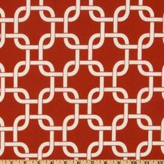 54'' Wide Premier Prints Indoor/Outdoor Gotcha American Red Fabric By The Yard