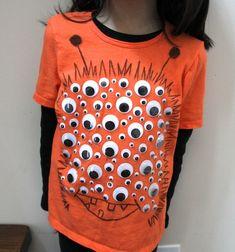 Cute idea as a Halloween shirt.