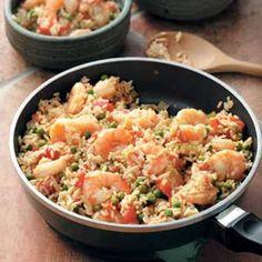 Easy Shrimp Jambalaya Recipe from Taste of Home