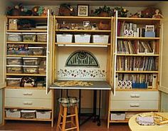 Creating Your Own Perfect Quilting Space by Lois L. Hallock Sewing-Room Makevoers for Any Space & Budget