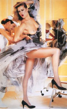 Pirelli Calenadar 1985 - Photographer Norman Parkinson